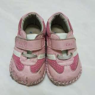 🚚 台製 恰恰兔 女寶 學步鞋