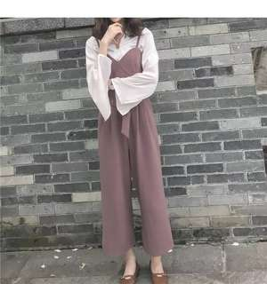 Burgundy Jumpsuit for Sale (Ready Stock)