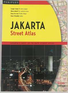Jakarta Street Atlas   Detailed and Updated City Maps