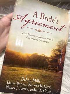 A brides agreement book