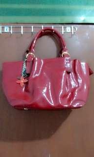Tas fashion import merah