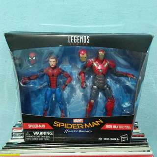 Marvel legends Spiderman homecoming 2 pack