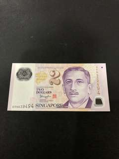 $2 note