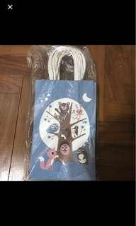 Owl Paper Bags