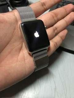 Apple Watch Series 2 Stainless Steel Milanese Loop