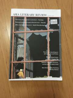 Free postage - Asia literary review 2009