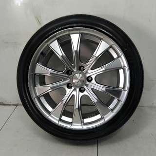 18 '' Sports Rim With Tyre 5x114.3 (SR1077)