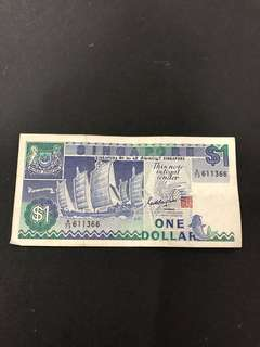 $1 note