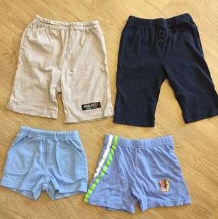 Baby pants and shorts bundle