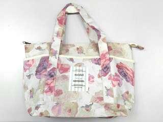 日本 Snidel Spring Floral Pattern 2WAY Tote Bag (可上膊)