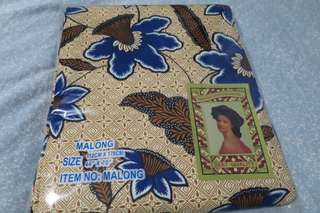 BNEW Malong from Davao City