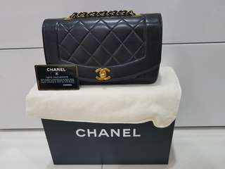 Chanel Diana Flap 9""