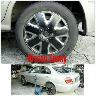 Tyre 185/65 R15 Membat on Nissan Sunny 🐕 Super Offer 🙋♂️
