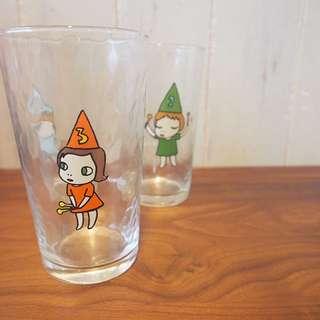 奈良美智Nara Mori girls三號大size水杯擺設