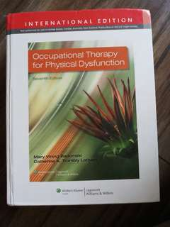 Occupational Therapy for Physical Dysfunction 7th Ed