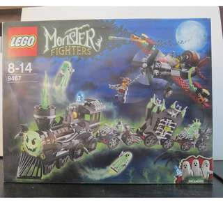 Lego 9467 Monster Fighter - The Ghost Train BRAND NEW SEALED