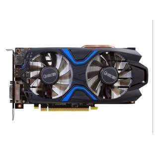 (二手) 95% New 影馳/GALAX GeForce GTX 1050Ti 大將 4G雙風扇顯示卡