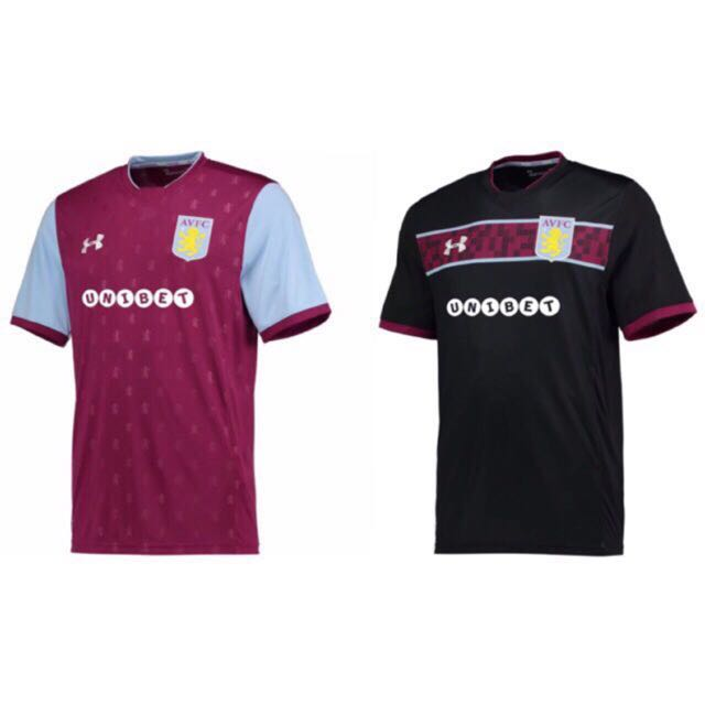 on sale 48e22 023f7 17/18 Aston Villa Kits
