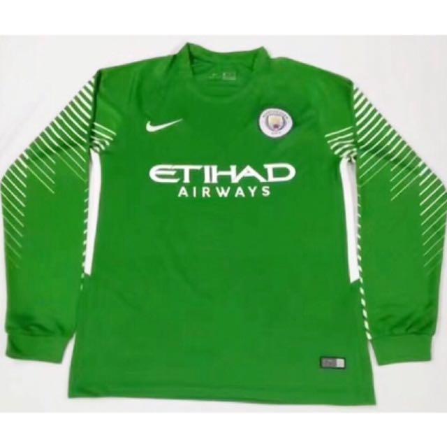 best deals on ed92a 8109b 17/18 Manchester City Goalkeeper Long Sleeve kits