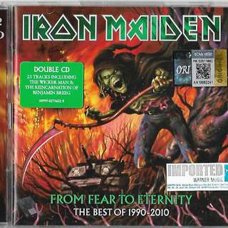 IRON MAIDEN From Fear To Eternity The Best of 1990-2010 2CD Imported CD