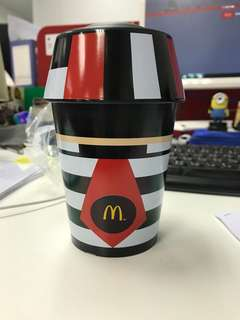 McDonald 麥樂會 漢堡神偷 杯