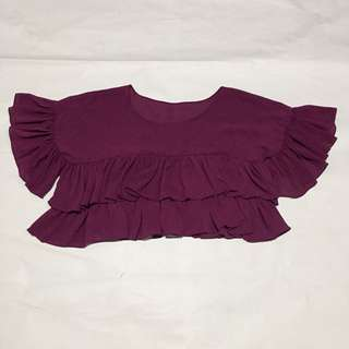Frilled Loose Top