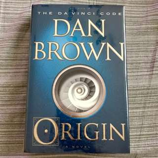 [Brand New & Unopened Hardbound] Origin by Dan Brown