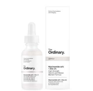 INSTOCK The Ordinary Niacinamide 10% + Zinc 1%