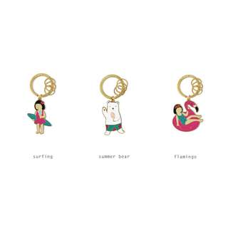 [Instock] Summer Holiday Key Chain By U-Pick