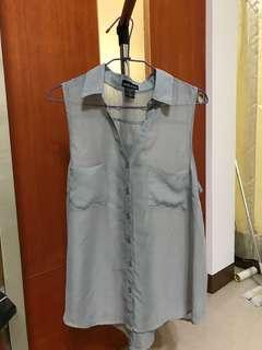 🚚 罩衫(灰)