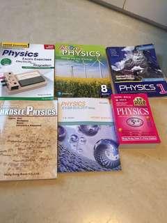 6本 Physics 相關練習 參考書 DSE 物理 Pearson joint us aristo