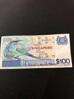 Singapore Bird Series $100
