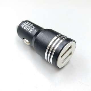 汽車充電頭 汽車充電器 USB x2 output 2.1A / 1A