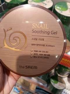 Soothing gel Snail