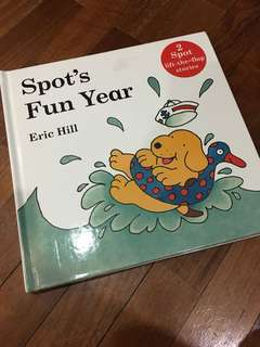 Pre-loved SPOT lift-the-flap book