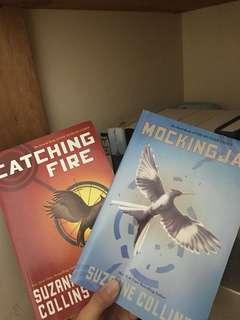 Mockingjay & Catching Fire book bundle
