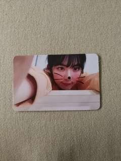 Red Velvet Irene bad boy kihno photocard
