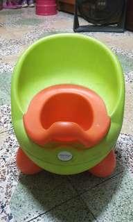 🚚 兒童學習馬桶 小椅子二合一