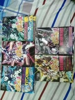 高達模型 日本語 Gundam Build Fighters Amazing Vol 1-5(Complete)