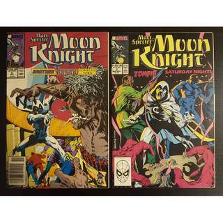 Moon Knight #6 & #7 (1989) Set of 2 Books