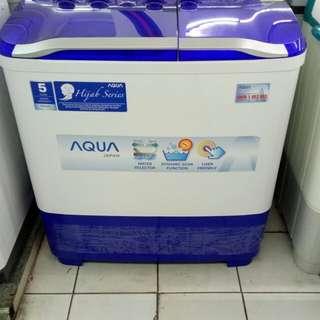 Aqua mesin cuci bisa cicilan proses cepat