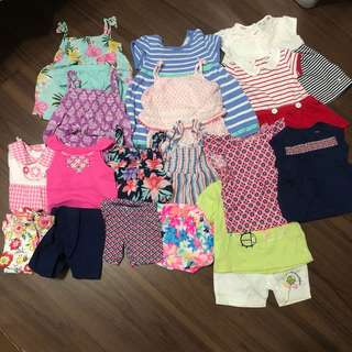 Baby Girl Clothes 3m