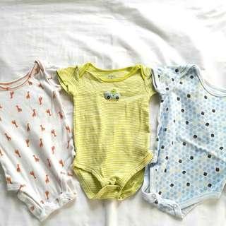 Unisex 6 months baby onesie