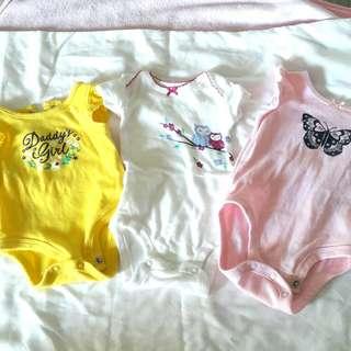 0-3 months baby onesie