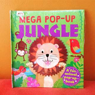 Buku BBW Mega Pop Up : Jungle