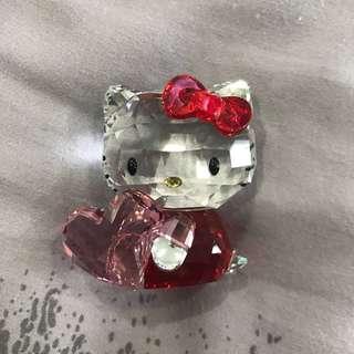 Hello Kitty Swarovski Figurine