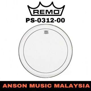 Remo PS-0312-00 12'' Pinstripe Clear Drum Head