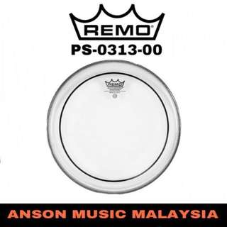 Remo PS-0313-00 13'' Pinstripe Clear Drum Head