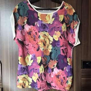 Floral Blouse by Muffin Clothing
