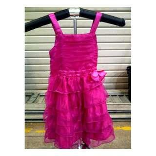 dress party girl pink tua tile tumpuk